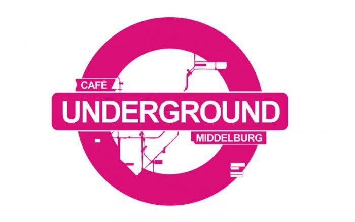 Cafe Underground Klanten van Textiel-Print