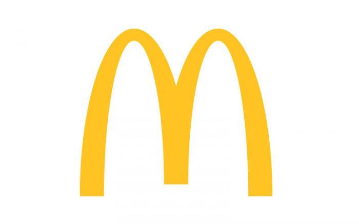 MacDonalds Klanten van Textiel-Print
