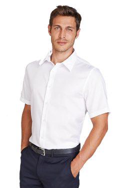 Heren Overhemd Met Drukknopen.Heren Overhemden Bedrukken Of Borduren Textiel Print