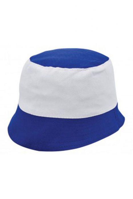 Royal Blue / White