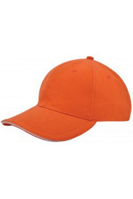 Orange / White