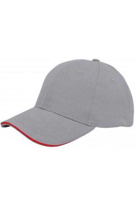 Grey / Red