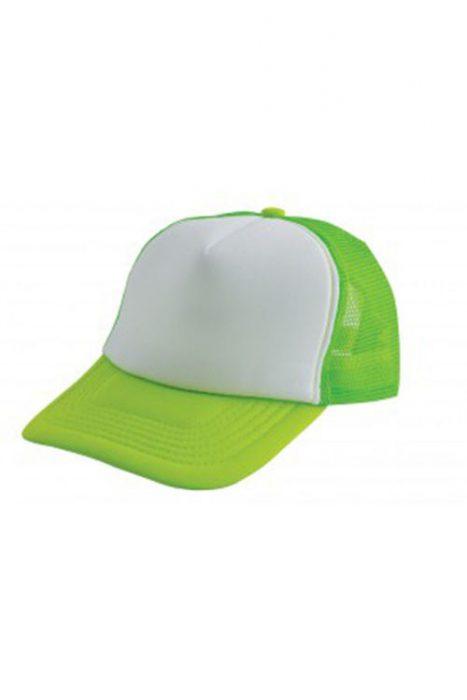 Light Green / White