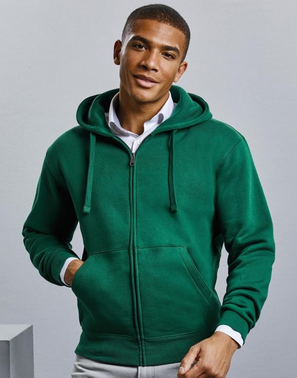 Authentic Zipped Hood Unisex