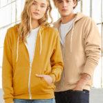 Sweater Hood Zip Unisex