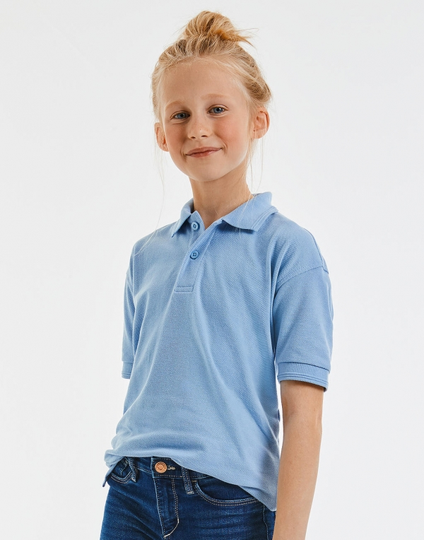 Kids Hardwearing Polycotton Polo