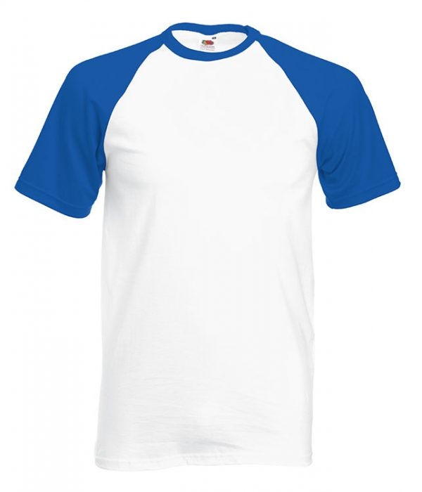 White / Royal Blue