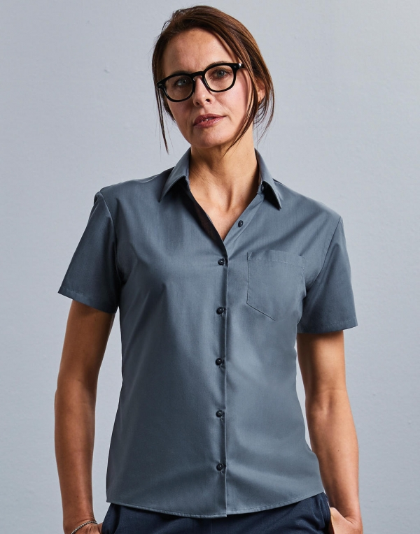 Polycotton Easy Care Poplin Shirts Women
