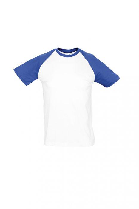 White / Royal Blue