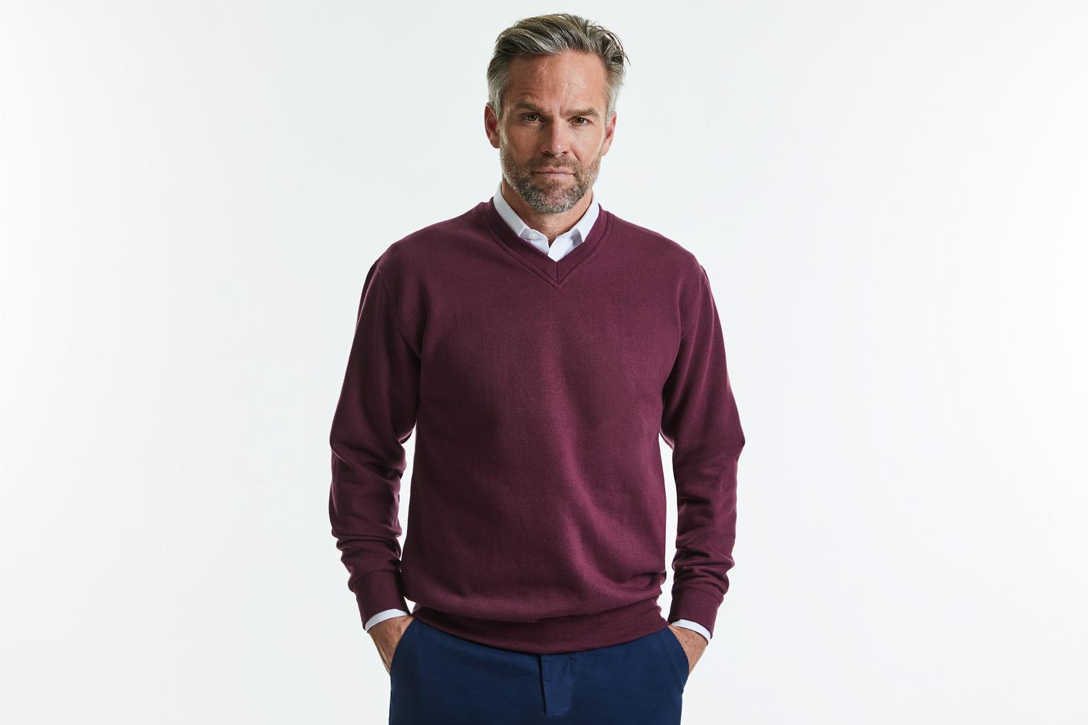V-Neck Sweatshirt Unisex