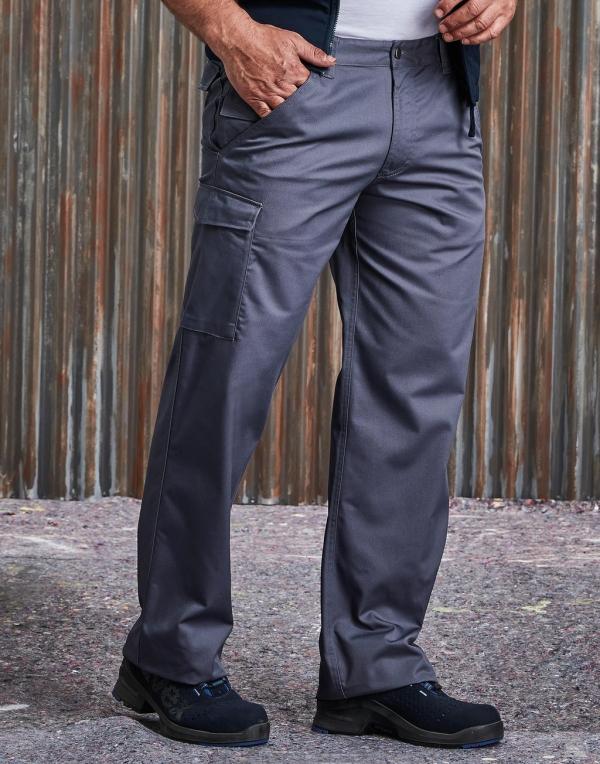 Polycotton Twill Trousers Men