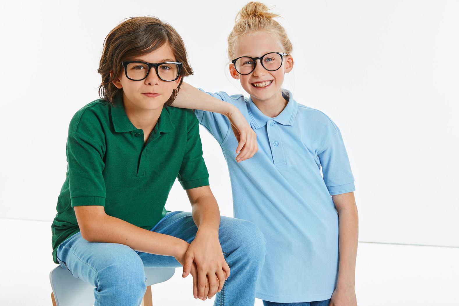 Kids Classic Polycotton Polo