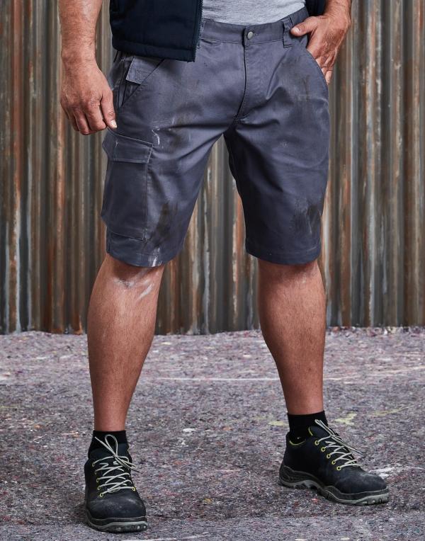 Polycotton Twill Shorts Men
