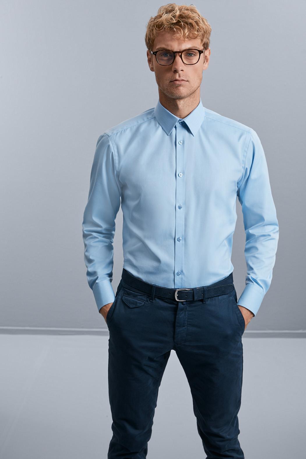 Herringbone Shirts Men