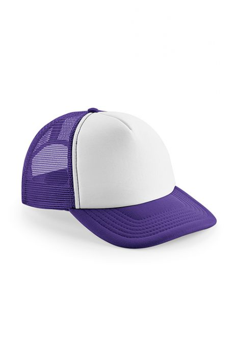Purple / White
