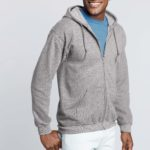 Sweater Hood Full Zip Men