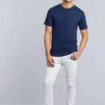 T-shirt Premium Cotton Crewneck Men