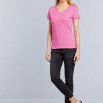 T-shirt Premium Cotton V-neck Women