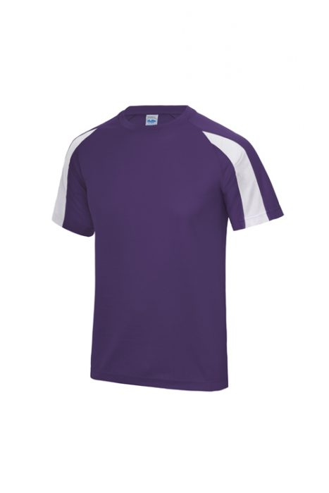 Purple / Arctic White