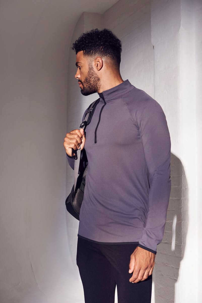 Cool 1/2 Zip Sweatshirt