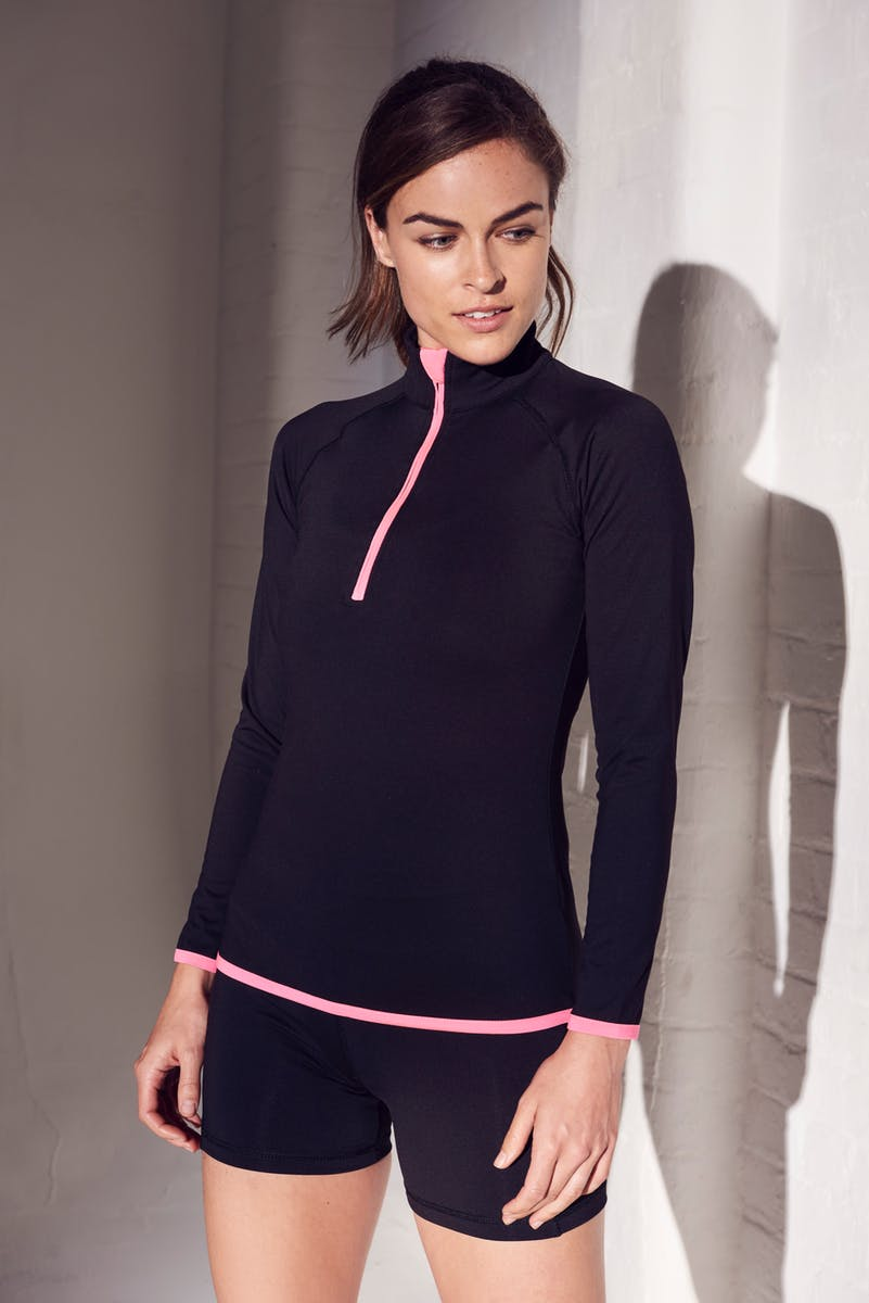 Girlie Cool 1/2 Zip Sweatshirt