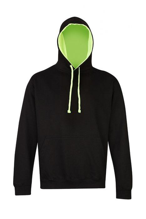 Jet Black / Electric Green