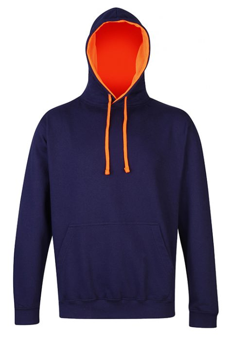 Oxford Navy / Electric Orange