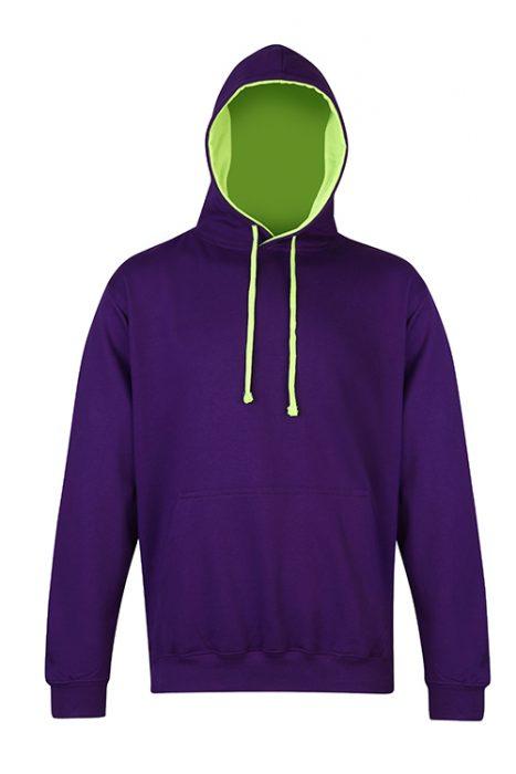 Purple / Electric Green