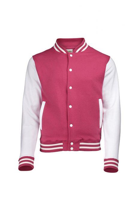 Hot Pink / White