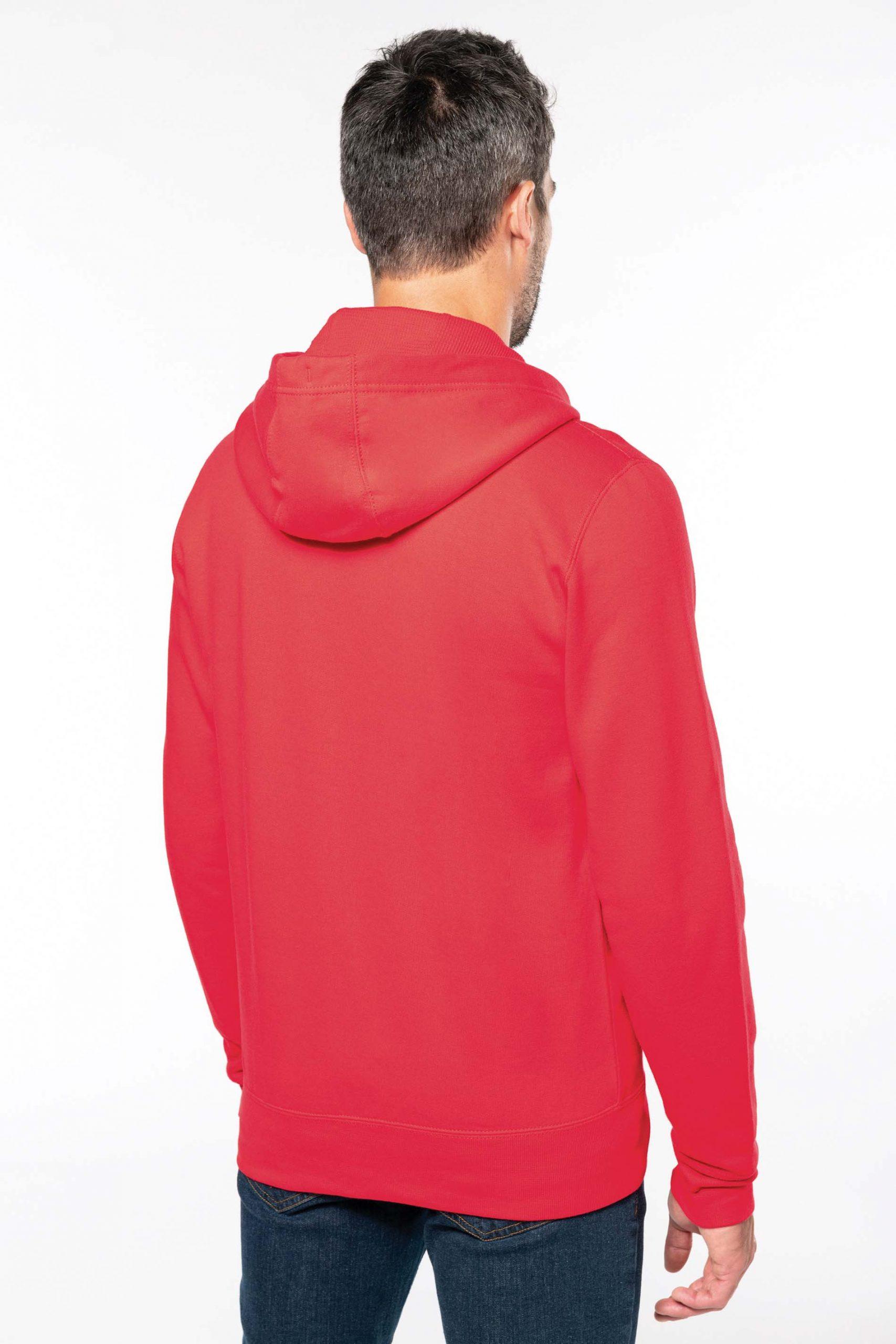 Hooded Sweater Zipped Men