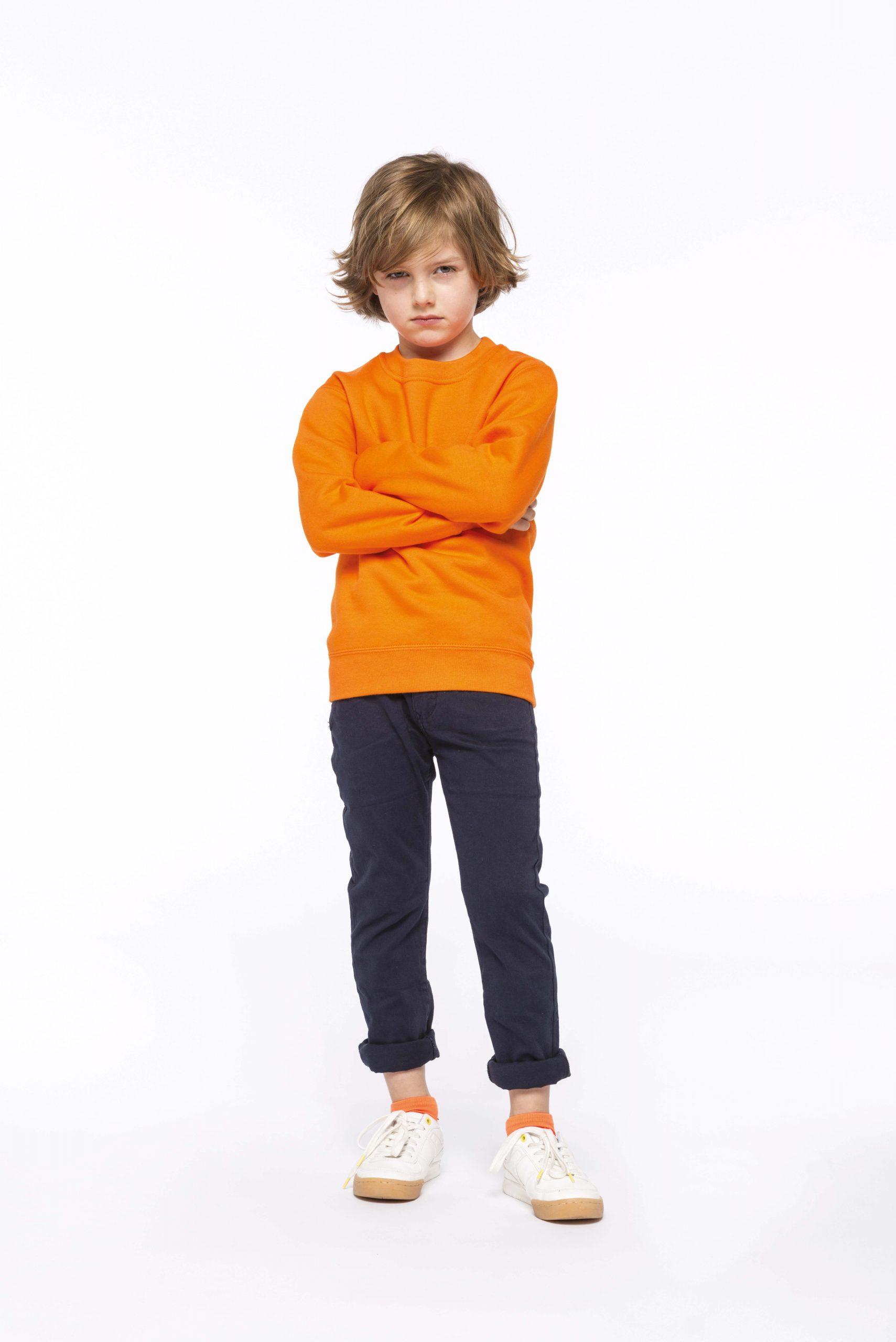 Crew Neck Sweatshirt Kids