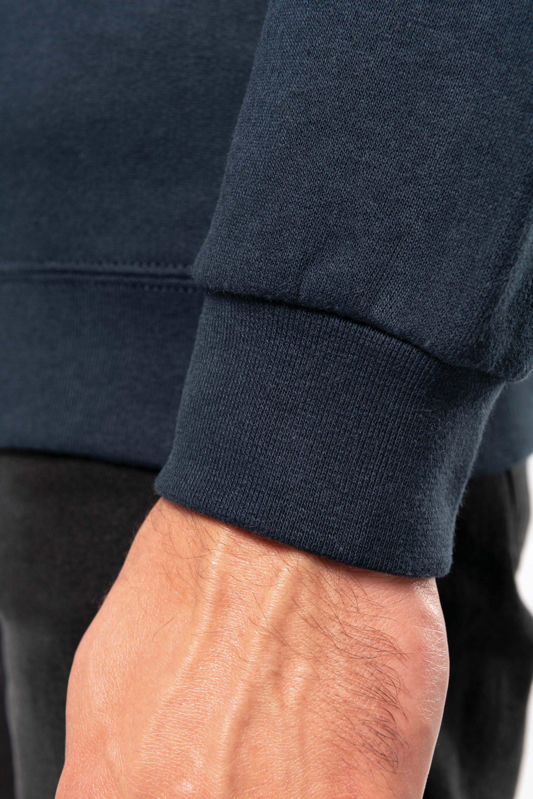 Zipped Neck Sweatshirt Men
