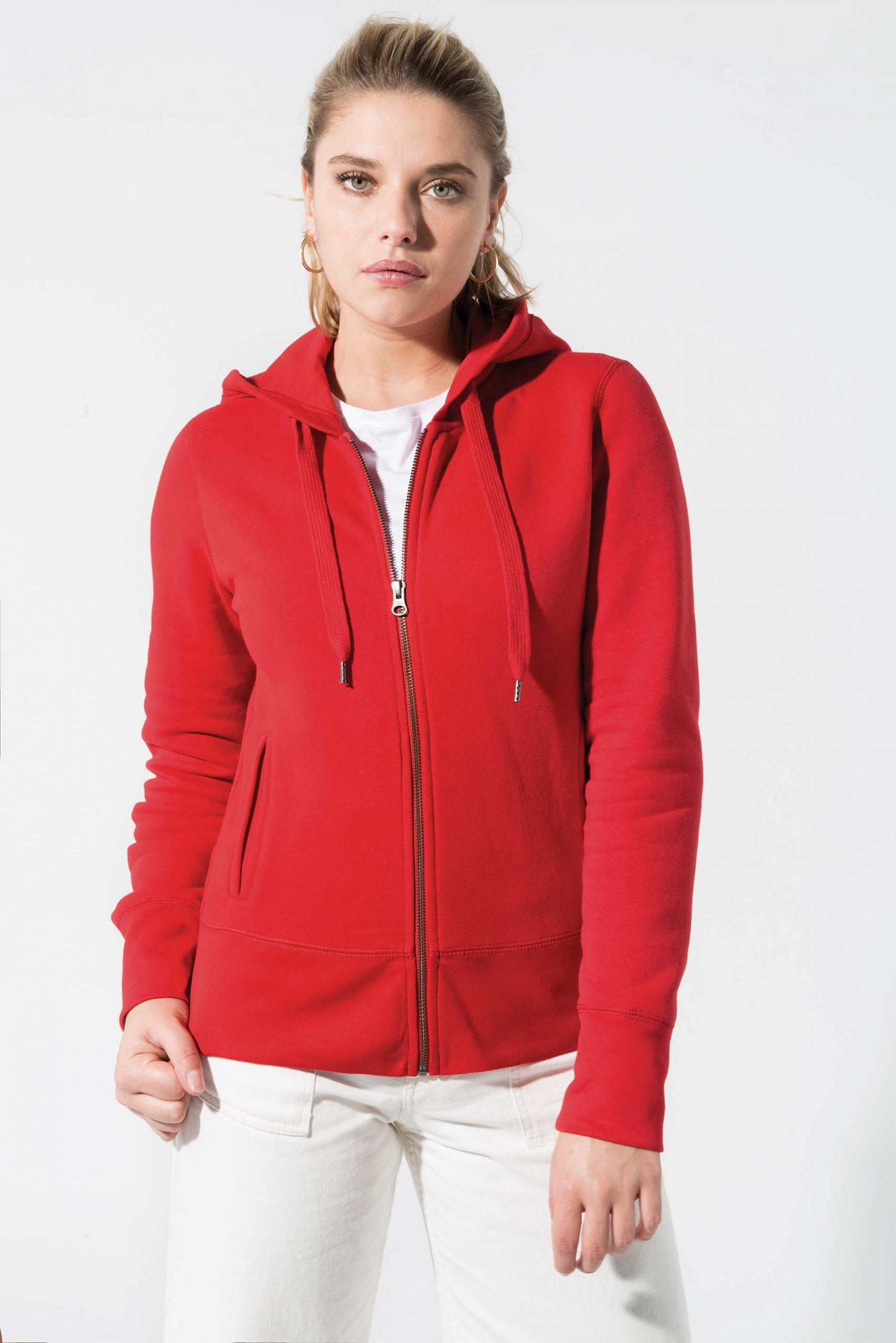 Biologische Hooded Women