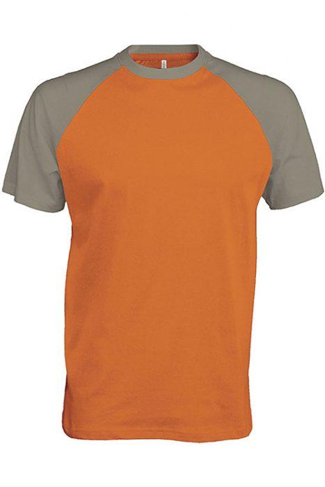 Orange - Light Grey