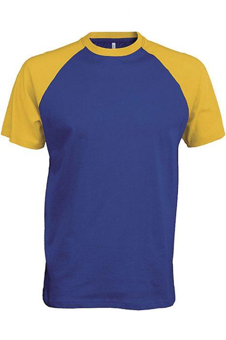 Royal Blue - Yellow