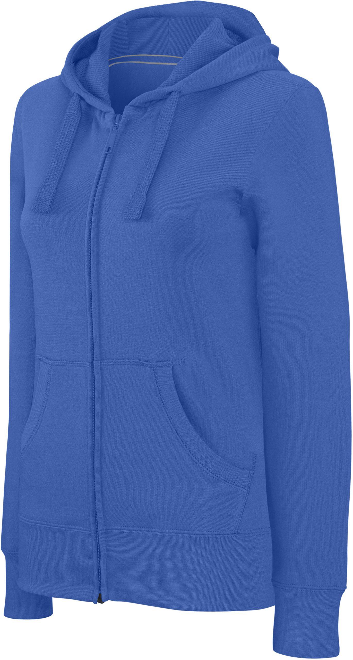 Hooded Sweater Zipped Women