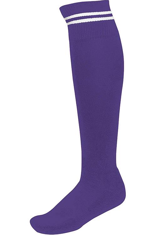 Sporty Purple - White