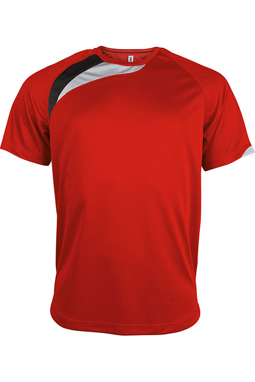 Sporty Red - Black - Storm Grey