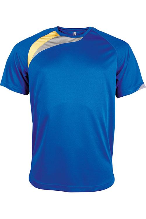 Sporty Royal Blue - Sporty Yellow - Storm Grey