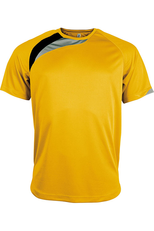 Sporty Yellow - Black - Storm Grey