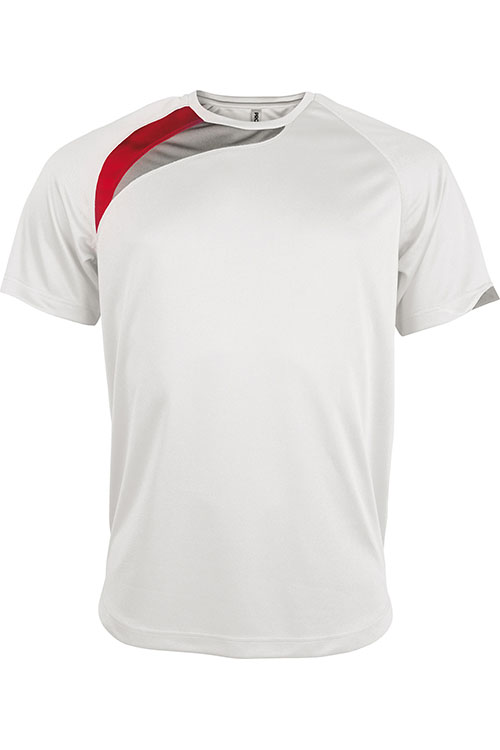 White - Sporty Red - Storm Grey