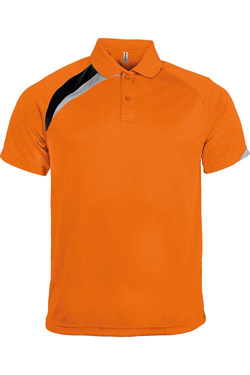 Orange - Black - Storm Grey