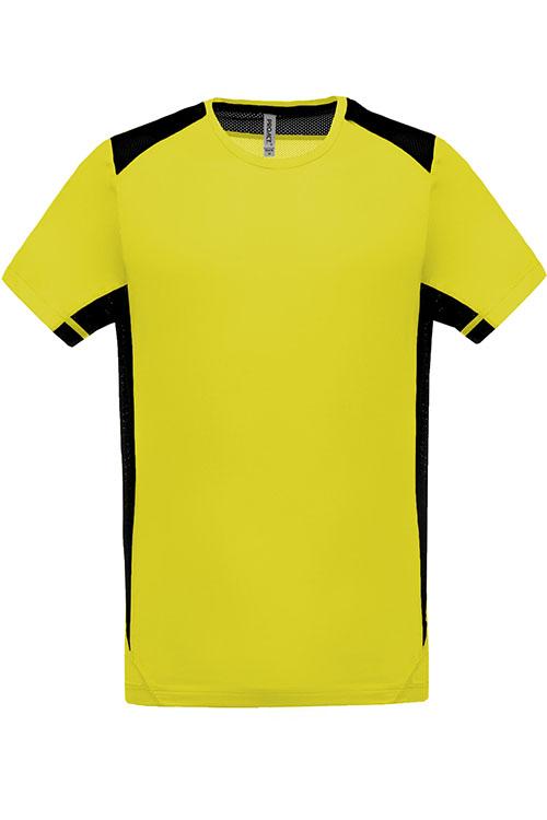 Fluorescent Yellow - Black
