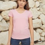 Lady-Fit Valueweight V-neck T Women