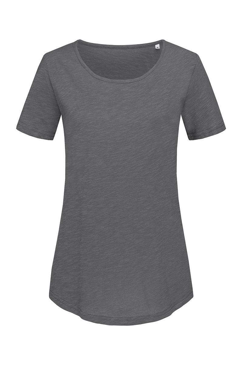 T-shirt Crewneck Organic Slub SS Women