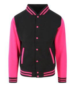 Jet Black / Hot Pink