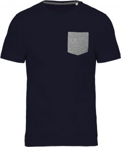 Navy / Grey Heather