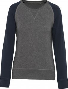 Grey Heather / Navy