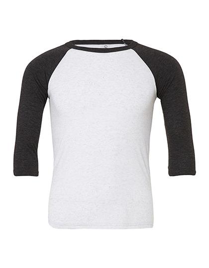 White Fleck Triblend (heather) / Charcoal-Black Triblend (heather)